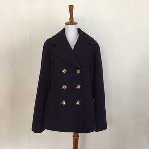 MICHAEL Michael Kors Double Breasted Pea Coat